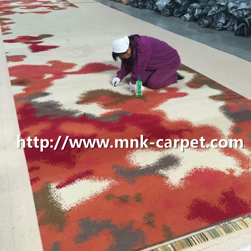 MNK Axminster Carpet Machine Made Hotel Corridor Carpet