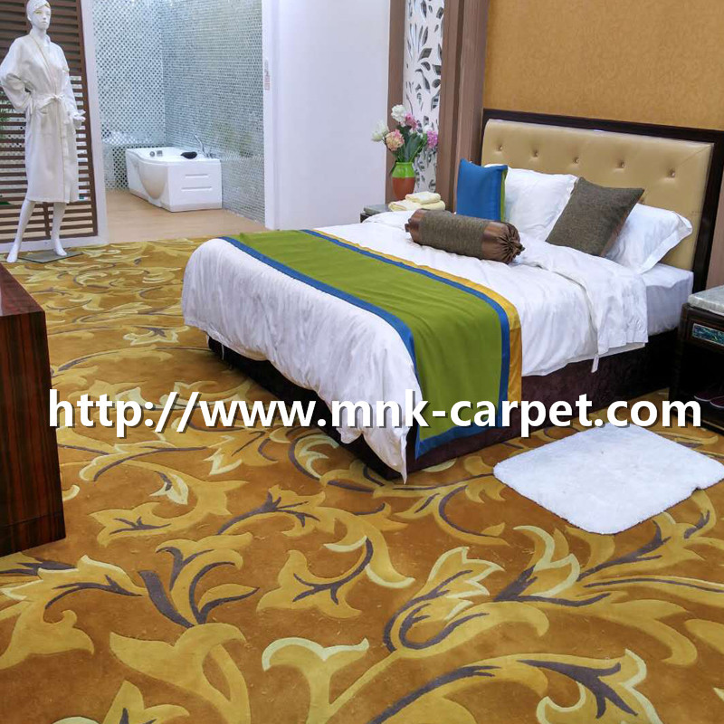 MNK Axminster Carpet Luxury Hotel Bedroom Carpet