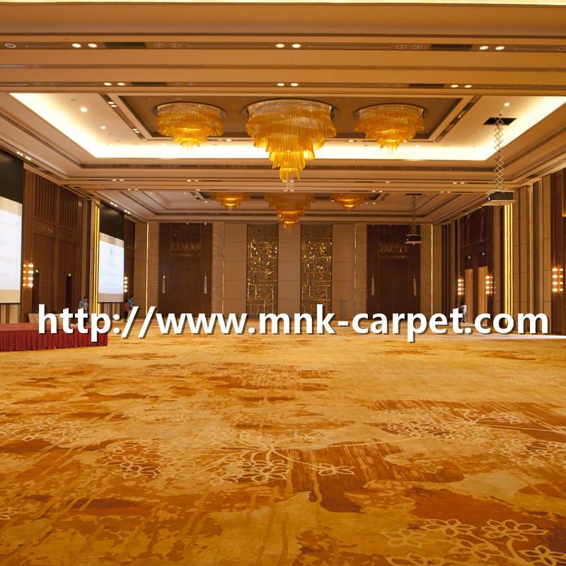 MNK Axminster Carpet Wall To Wall Luxury Hotel Lobby Carpet