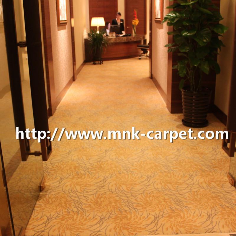 MNK Wall To Wall Carpet Hotel Lobby Axminster Carpet