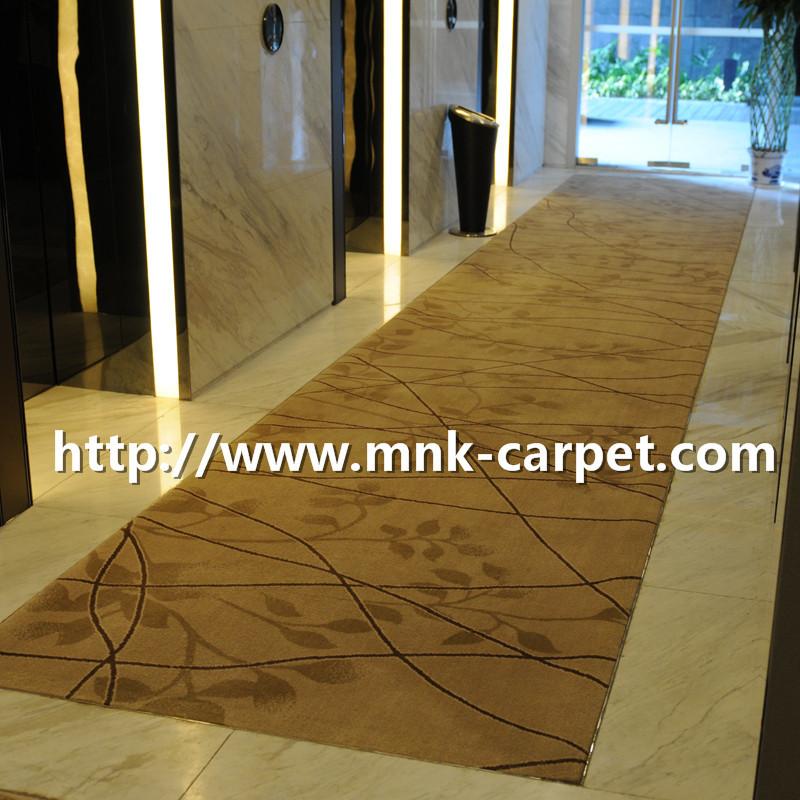 MNK Axminster Carpet Modern Design Carpet For Hotel Corridor