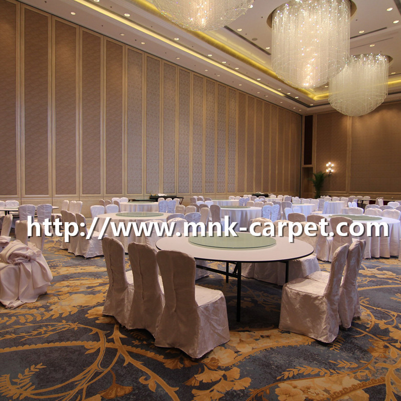 MNK Wall To Wall Machine Made Carpet Hotel Banquet Hall Axmisnter Carpet