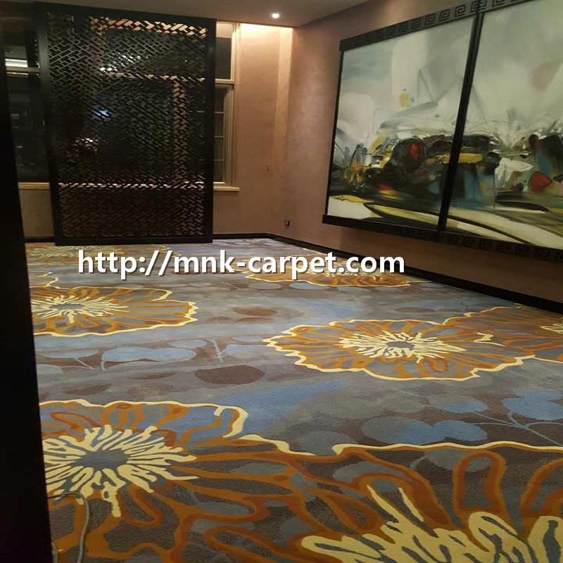 MNK Wall To Wall Hotel Carpet Modern Design Banquet Carpet