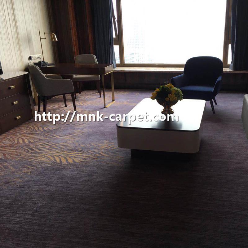 MNK Wall To Wall Hotel Carpet Nylon Carpet For Bedroom
