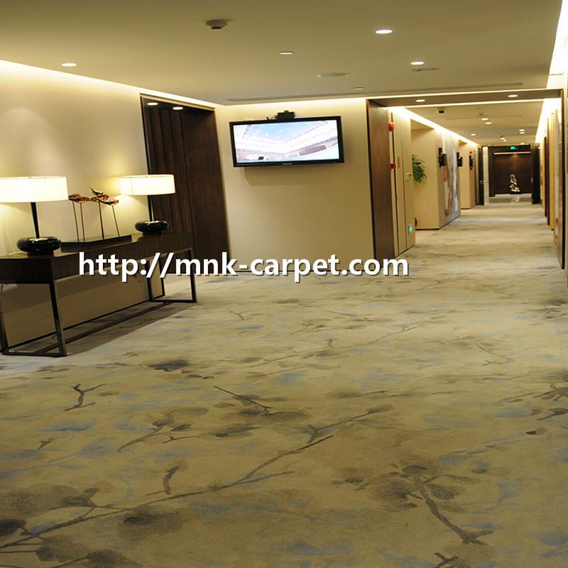 MNK Printed Nylon Carpet Wall To Wall Hotel Room Carpet