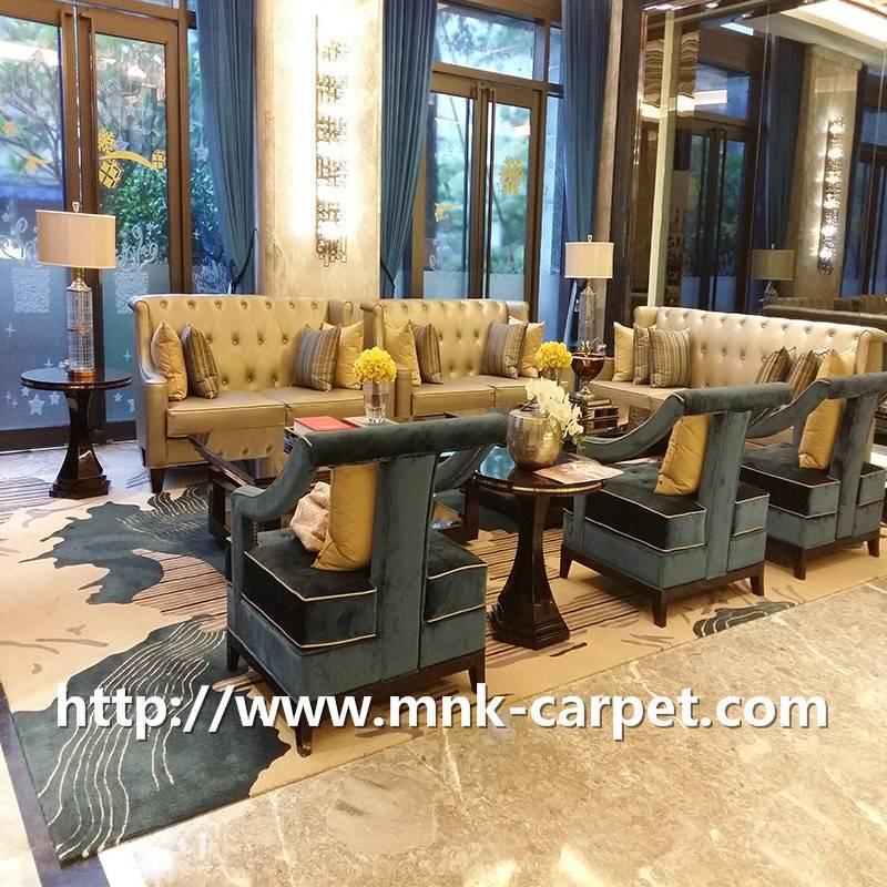 MNK Handmade Carpet Fmaily Living Room Rug