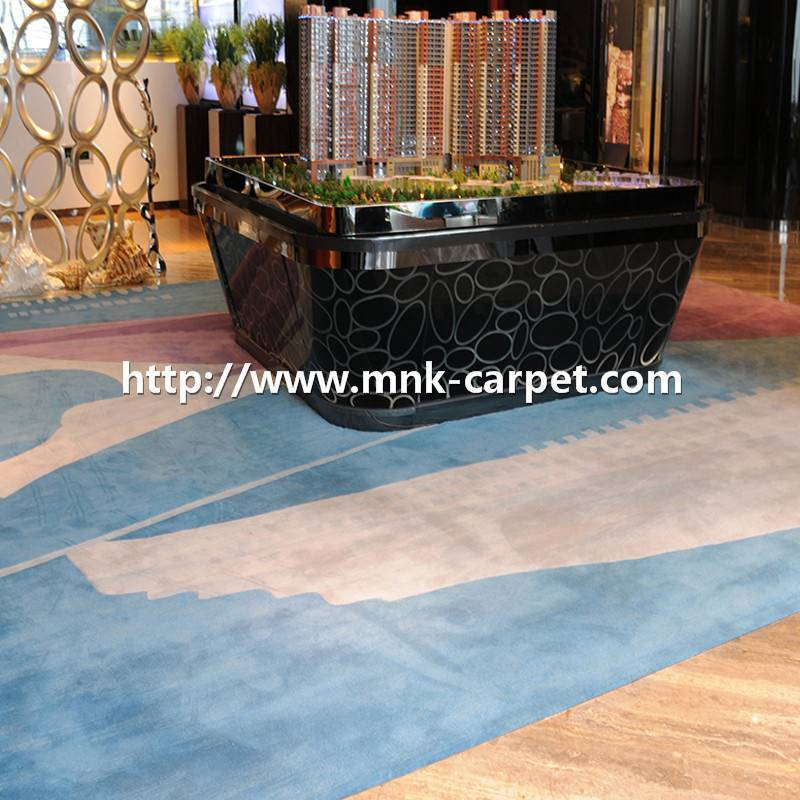 Wall To Wall Carpet Reception Room Carpets Hand-tufted Carpet