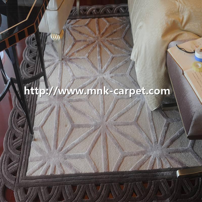 Warmly Bedroom Carpets Hand Woven Carpets
