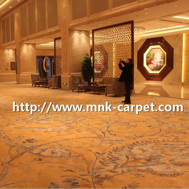 Luxury axminster Carpet Wool Axminster Carpet for Hotel