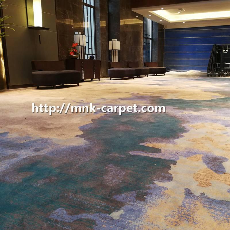 MNK Nylon Wall To Wall Carpet Hotel Lobby Carpet